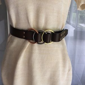 Brown Snap on Belt 💫